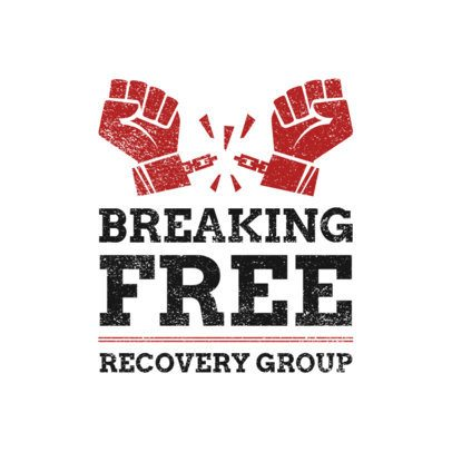 Recovery Group Logo Creator Featuring Two Chained Hands 2772b