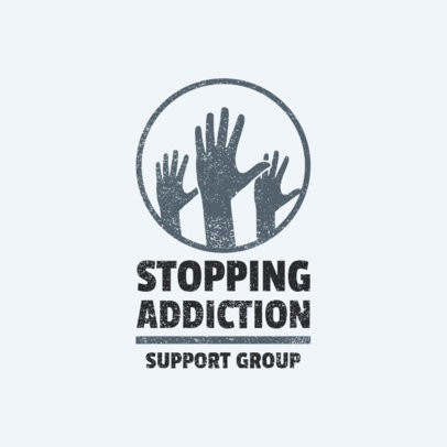 Logo Generator for an Addiction Support Group 2772d