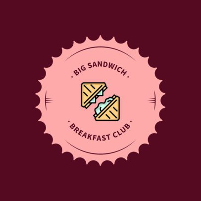 Logo Design Template for Breakfast Restaurants 366c-el