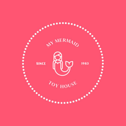 Simple Logo Design Maker for a Toy House