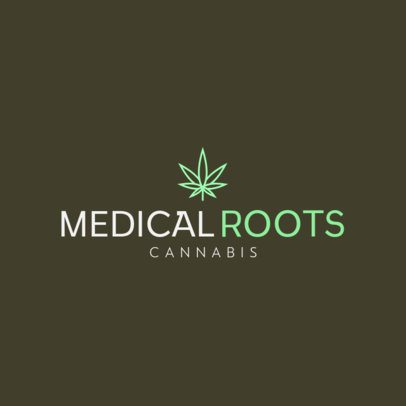 Logo Maker for a Medicinal Marijuana Brand 393c-el1