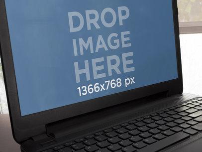 Black Laptop Closeup