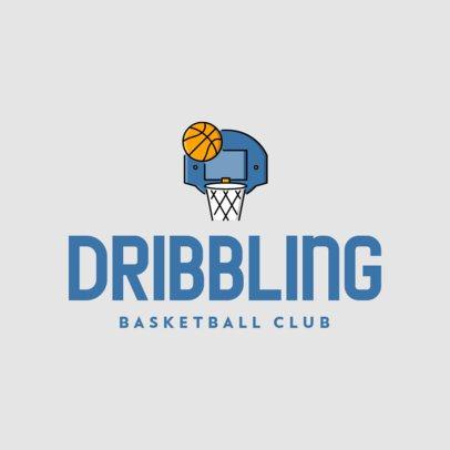 Sports Logo Generator for Basketball Clubs 335c-el1