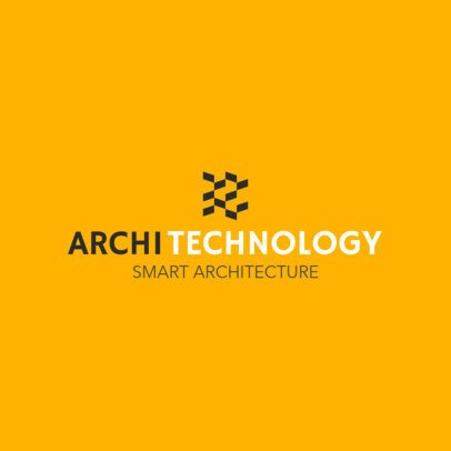 Simple Logo Maker for an Architectural Technology Company 1210o-2796