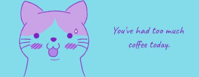 Mug Design Generator with a Surprised Cat Graphic 2075c