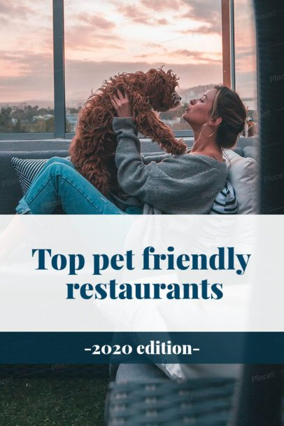 Pet-Friendly Restaurants Pinterest Pin Maker 2122d
