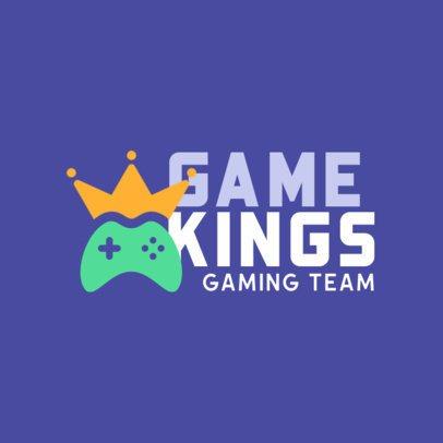 Gaming Logo Creator Featuring a Controller Icon 415-el1
