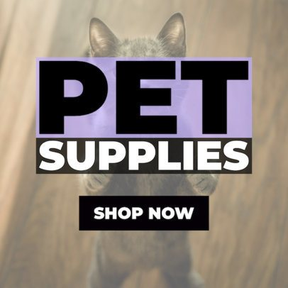 Banner Ad Maker for Pet Products 2124