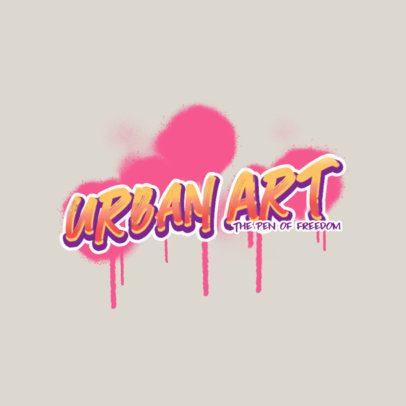 Clothing Brand Logo Maker with Graffiti-Like Fonts 2804a