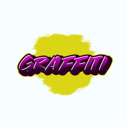 Graffiti-Styled Logo Maker for a Streetwear Brand 2803k