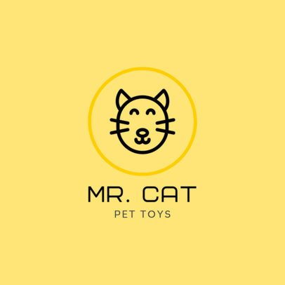 Animal Logo Maker for a Shop of Pet Toys 329a-el1