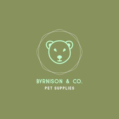 Logo Template for a Pet Supplies Store 329c-el1