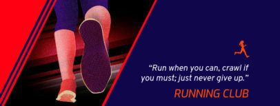 Facebook Cover Creator for a Running Club 1931i-2084