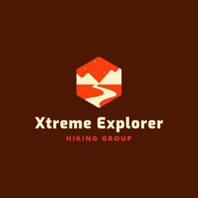 Online Logo Maker for Hiking Groups 293e-2797