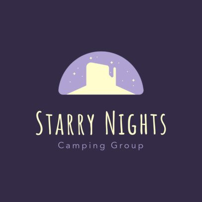 Logo Template for Camping Groups 293d-2797