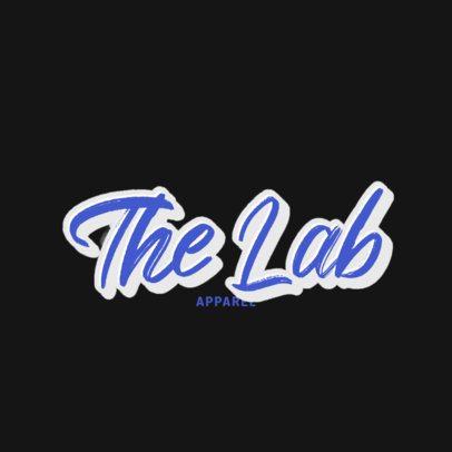 Clothing Brand Logo Creator with a Fresh Typeface 2751i-2833