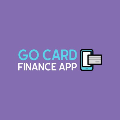 Logo Generator for a Finance Mobile App 497b-el1