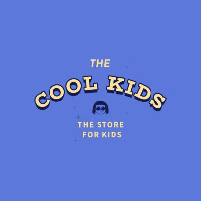 Cool Logo Generator for a Kids Clothing Store 2736k 2837