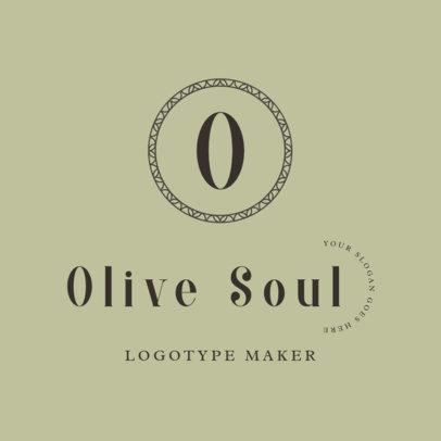 Minimalist Logo Maker with Three Typefaces 2357j-2835