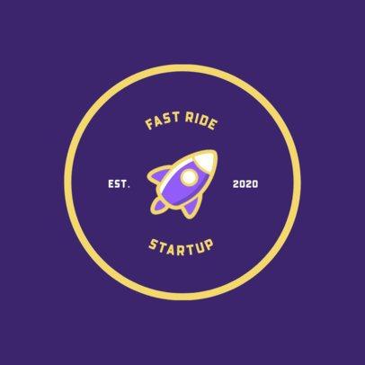 Simple Startup Logo Generator with Fun Icons 274-el1