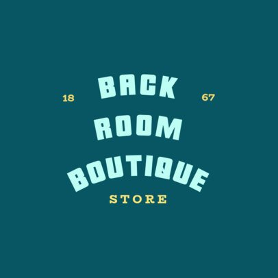 Boutique Store Logo Maker with a Minimalistic Style 1067h-2838