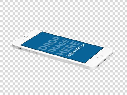 iPhone 6s Plus Mockup Template for App Marketing a11606