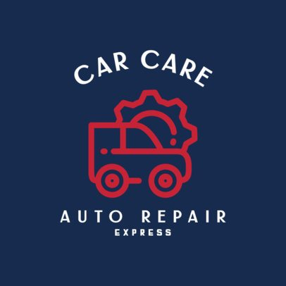 Simple Logo Template for Automotive Professionals 462b-el1