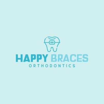 Simple Logo Maker for Orthodontic Clinics 478b-el1