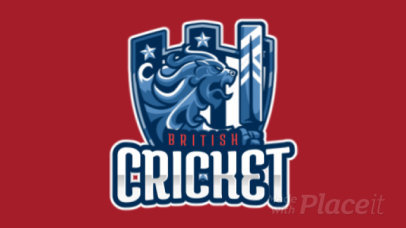 Animated Logo Maker for an International Cricket Team 1652e