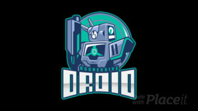 Mobile Legends-Inspired Animated Logo Creator with a Droid Illustration 2455jj-2860