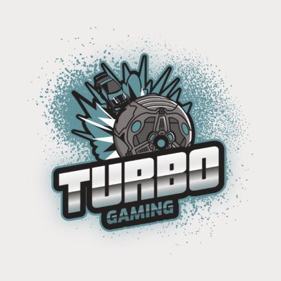 Rocket League-Inspired Logo Maker Featuring a Turbo Vehicle 2851g