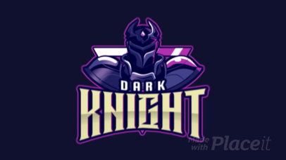 Fantasy Logo Maker with an Animated Knight Graphic 2455ll-2859