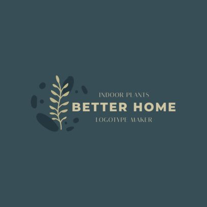 Logo Template for an Indoor Plants Store 2839e