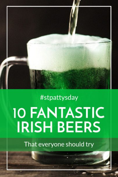 Pinterest Pin Maker for St Patricks Day Beer Recommendations 2183d