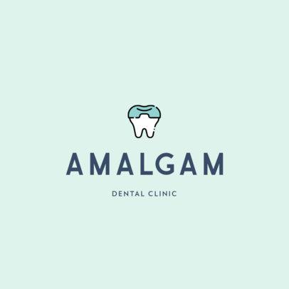 Minimal Logo Maker for Dentistry Centers Featuring Dental Illustrations 602-el1