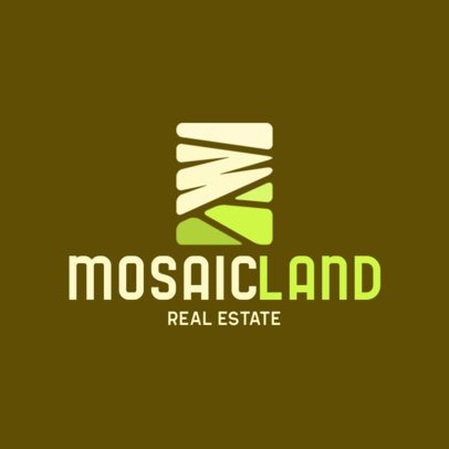 Abstract Logo Generator for a Real Estate Agency 597a-el1