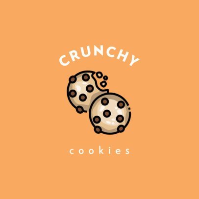 Logo Creator for a Cookie Store 609b-el1