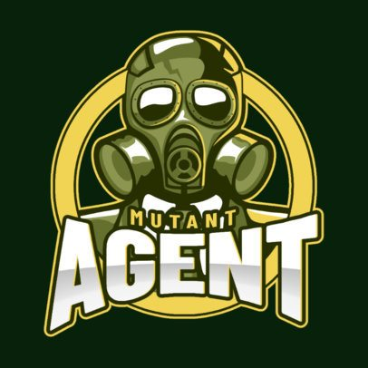 Gaming Logo Creator Featuring a Mutant Agent 2651i-2893