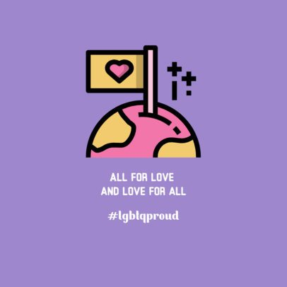 Proud LGBTQ Instagram Post Creator 594c-el1