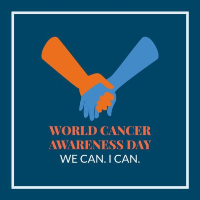 Facebook Post Template for World Cancer Awareness Day 2026n 2175