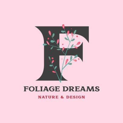 Botanical Design Logo Maker for Plant Shops 2840f