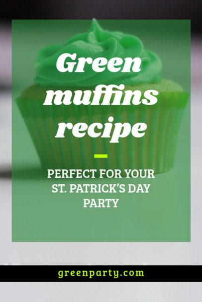St. Patrick's Day Pinterest Pin Generator for a Plant Post 2031j-2182