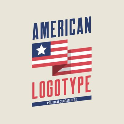 Political Logo Maker Featuring American Graphics 2867