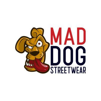 Streetwear Clothing Brand Logo Maker Featuring Bizarre Cartoon Characters 697-el1