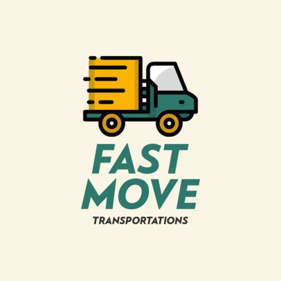 Logo Maker for an Efficient Moving Company 693c-el1
