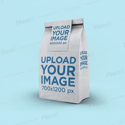 Paper Bag Mockup at a Minimalistic Setting 2581-el1