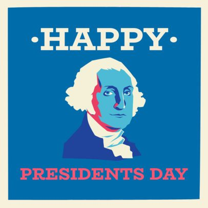 President's Day Instagram Post Maker with Patriotic Graphics 2200
