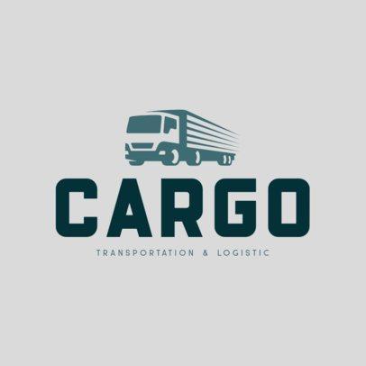 Minimalist Logo Maker for a Transportation Company 695b-el1