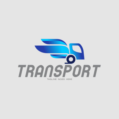 Modern Logo Template for a Transportation Service 696a-el1