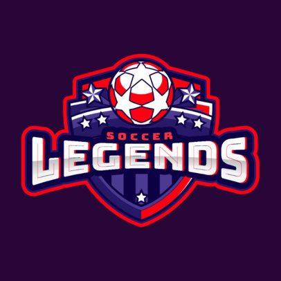 Sports Logo Generator for a Soccer Team 1748y-2931